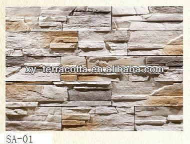 interior faux stone wall,imitation stone wall cladding,decoration material