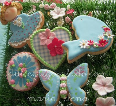 Pinterest Galletas Decoradas Pajaro