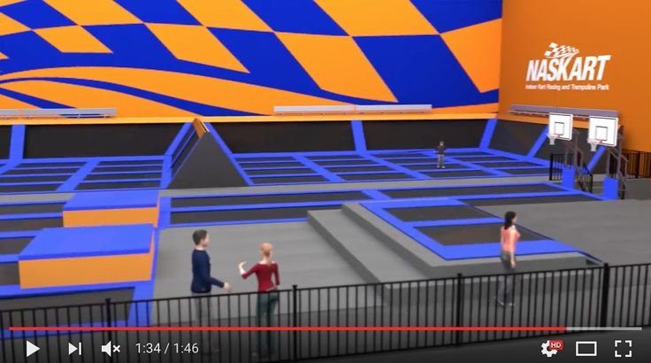 Q: How much does it cost to jump on trampolines? A: 1/2-hour jumping pass is $8, 1-hour jumping pass is $14 =>