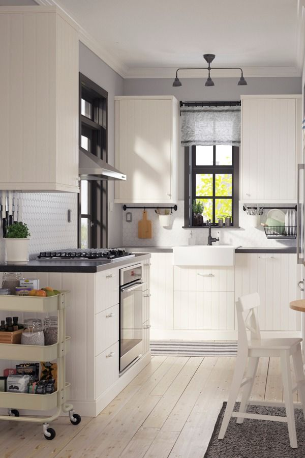 Create a kitchen that is perfect for you! IKEA kitchen cabinets that suit you and how you use your kitchen will save time and effort every time you cook (or empty the dishwasher).