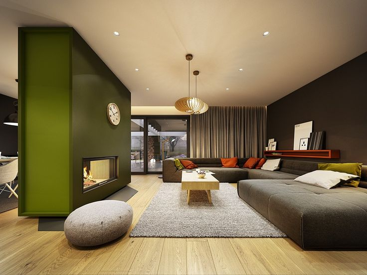 Fabulous home design with gray wooden accent.... | Visit : roohome.com  #home #design #beautiful #gorgeous #fabulous #unique #simple #creative #amazing #awesome