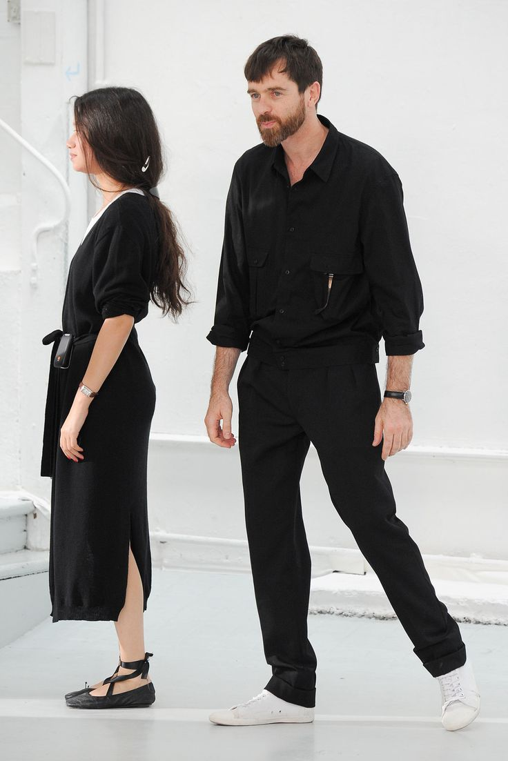 Sarah Linh and Christophe Lemaire
