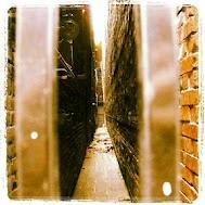 Gastown down Blood Alley.