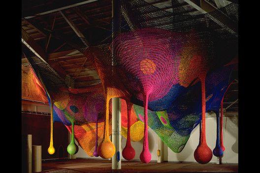 Meet the Artist Behind Those Amazing, Hand-Knitted Playgrounds,© Masaki Koizum