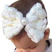 2015 Cabeça 2015 Acessórios hairband Bebê Headband Grande Arco da Menina…