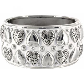 Rockin Hearts Hinged Bangle: Rockin Hearts, Style, Hearts Hinged, Jewelry, Bangles, Brighton Bracelets, Things