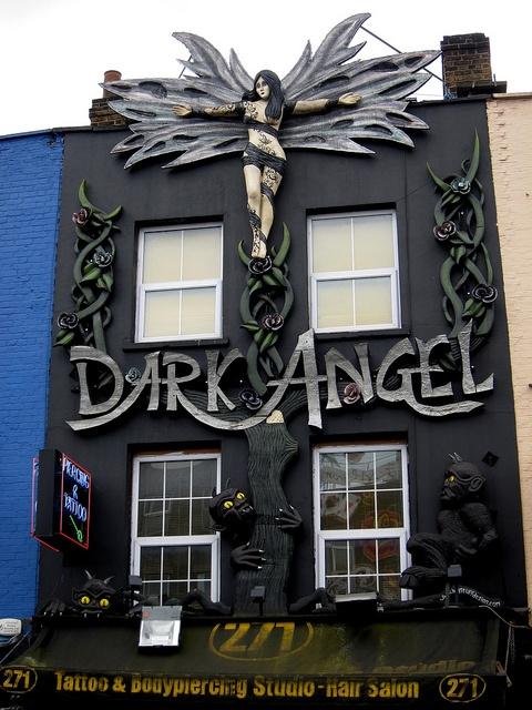 Camden High Street - Dark Angel
