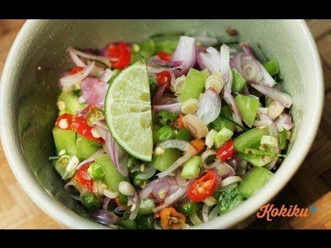 Resep Sambal Matah Bali (Balinese Chili Recipe Video)