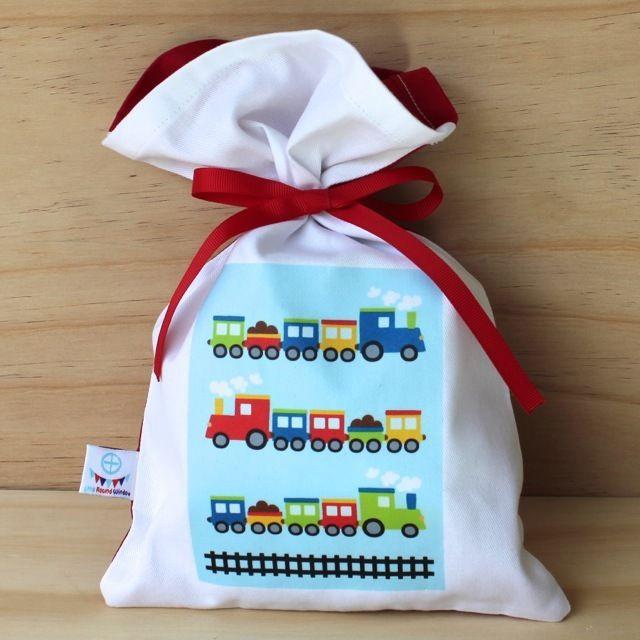 Train Cotton Party Bag