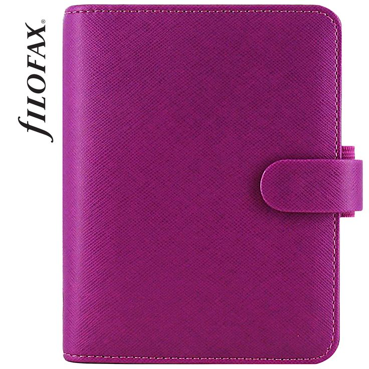 Filofax Saffiano Pocket Raspberry