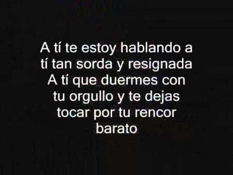 A Tí - Ricardo Arjona - CON LETRA
