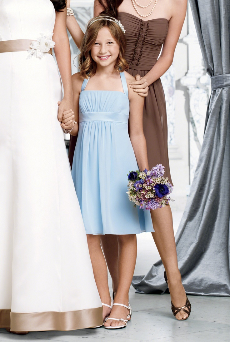 26 best wedding fashion images on pinterest alfred angelo alfred angelo mini maid dresses style 7016smm junior bridesmaid ombrellifo Image collections