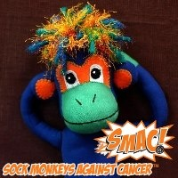 """Crowdfunding campaign to bring the SMAC! monkeys to life kicks off THURSDAY (Nov. 1st). Get your pledges ready...so all with/impacted by cancer can get one of these """"creature comforts"""" to help them SMAC! it. AND please REPIN cute, little NoMo here to help spread the word. #SMACancer"""