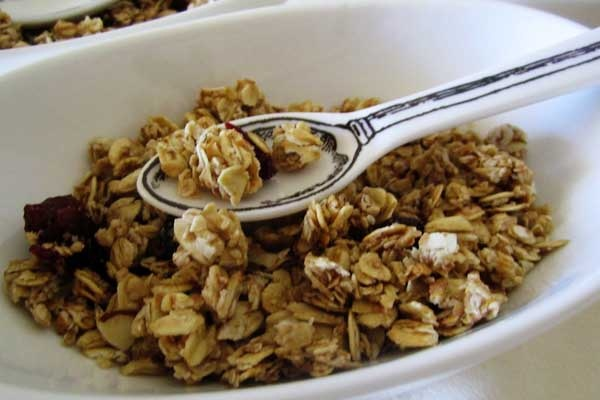 Start your day off right with Berry Fresh Granola Cereal.  Recipe by @coryanneettiene featured on @celebrations.com