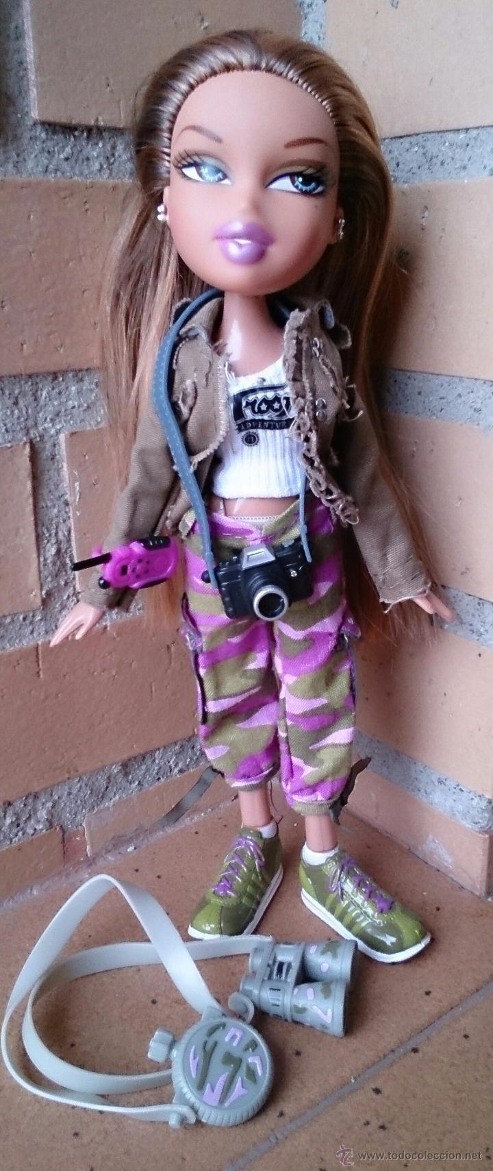 MUÑECA BRATZ ADVENTURE GIRLZ SERIES YASMIN (Juguetes - Muñeca Extranjera Moderna - Otras Muñecas)