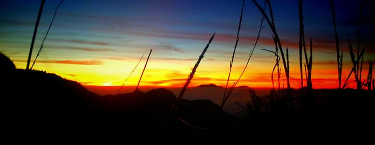 Sunrise at mount Bromo, Probolinggo. Picture taken from Gorilla Hill