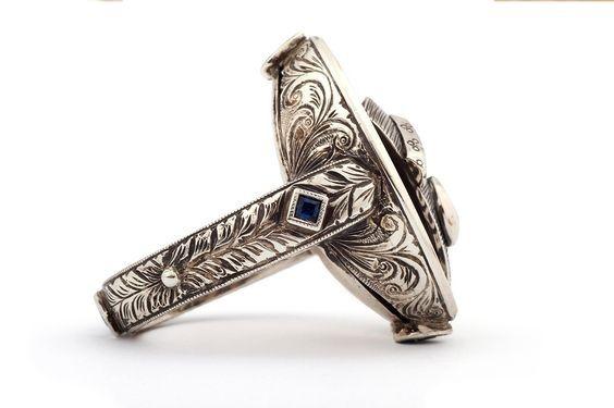 Gentleman's signet rings by GALACIA DESIGNER JEWELLERY.