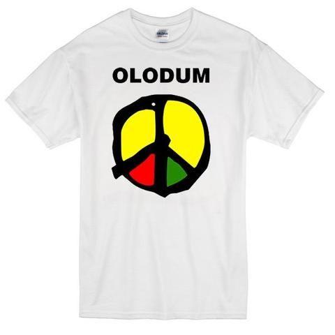 Olodum Peace Sign Mj Custom,Men's Adult T-Shirt,Men's Gildan T-shirt,Custom T-shirt,Cheap T-shirt,T-shirt Print,Cheap Tees