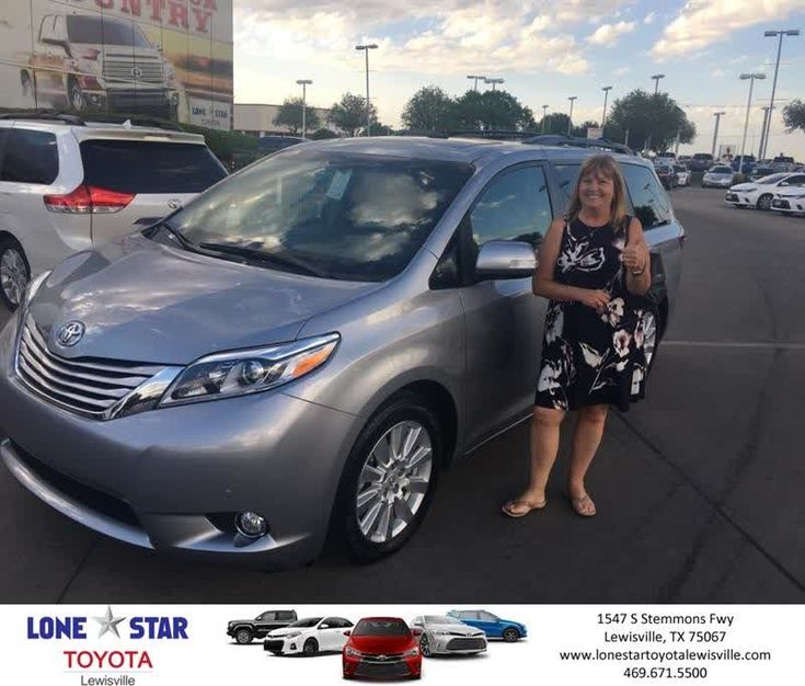 Congratulations Brenda on your #Toyota #Sienna from Chris Richardson at Lone Star Toyota of Lewisville!  https://deliverymaxx.com/DealerReviews.aspx?DealerCode=E208  #LoneStarToyotaofLewisville