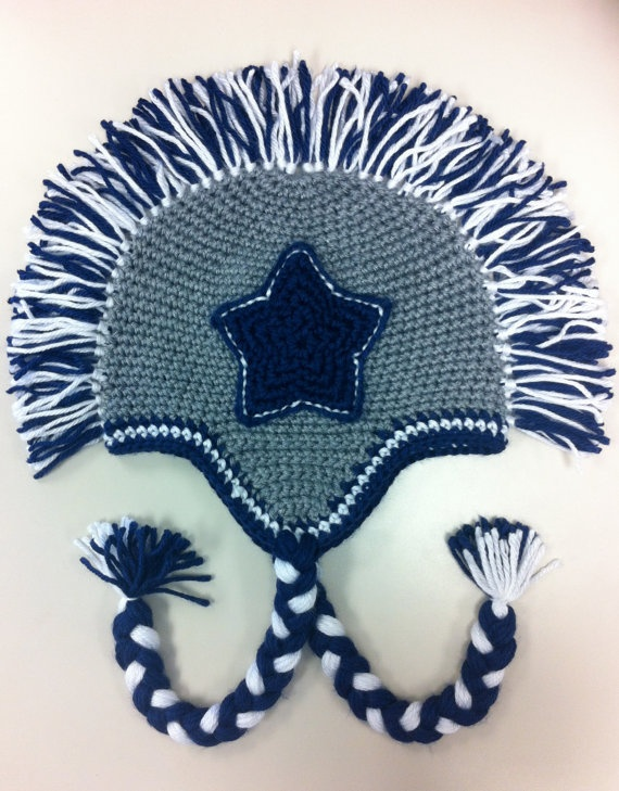 Dallas Cowboys Knit Hat Pattern : 17 Best images about Crochet on Pinterest Perler bead patterns, Crochet vid...