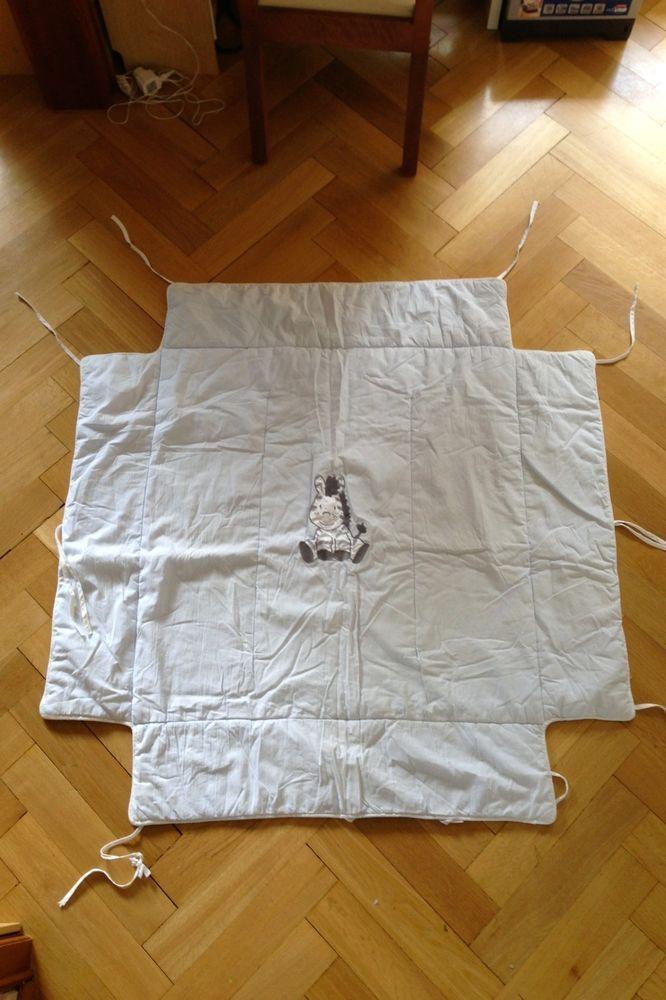 Geuther Babydecke für Laufgitter/-stall in hellblau