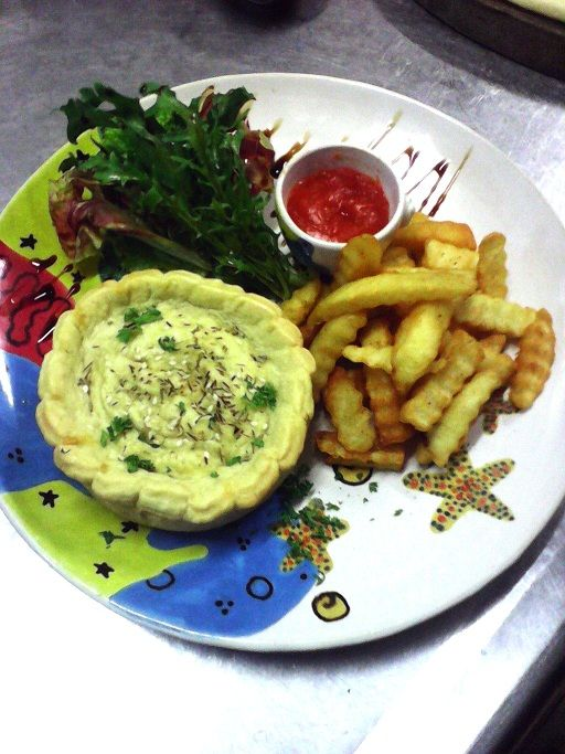 For all pie lovers... our homemade pies (beef, chicken or vegetarian)  #pie #restaurant #bali #candidasa #food #foodie #homemade