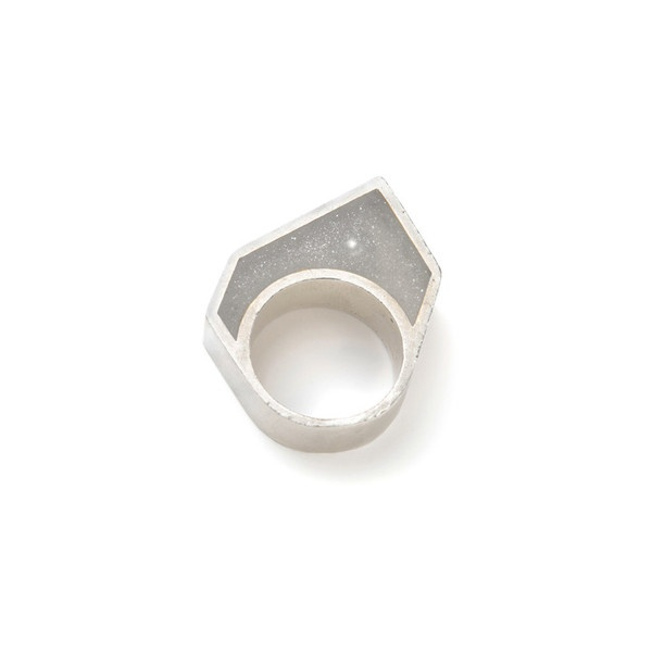 WXYZ JEWELRY - Hollow Pixel Ring