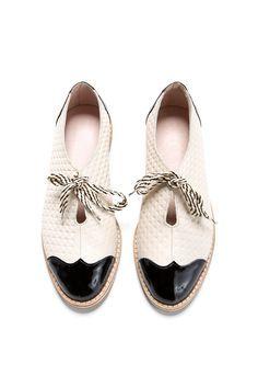 Oxford plat chaussures vente de 2016 HAPPY 30 % par ImeldaShoes