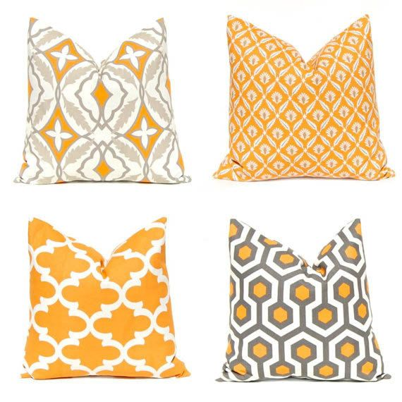 Hey, I found this really awesome Etsy listing at https://www.etsy.com/listing/153480446/orange-pillow-covers-decorative-pillow
