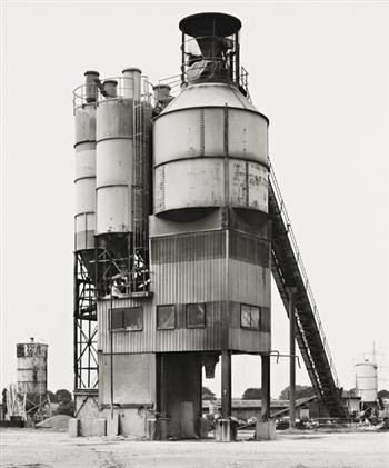 BERND & HILLA BECHER  Krefeldn Hafen,1979
