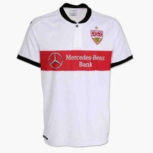 VfB Stuttgart 2017-18 Season Home Die Roten Shirt [K660]