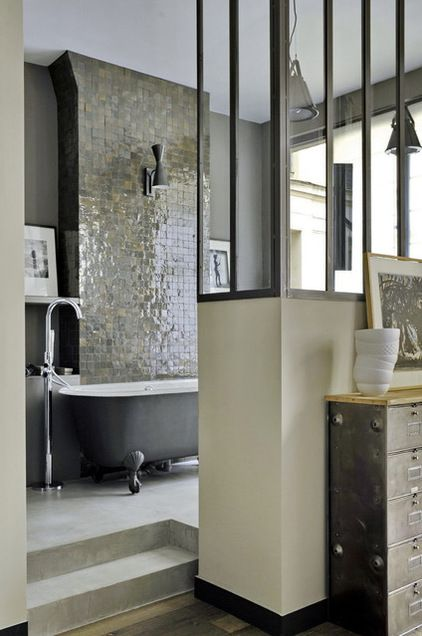 Eclectic Bathroom by MOC, Maisons Objets & Chantiers