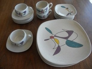 Vintage Metlox Poppytrail Freeform Dishes  — Best offer $375