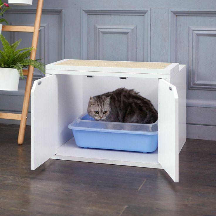 Cat Litter Box Petsmart, Self Cleaning Kitty Litter Box ...