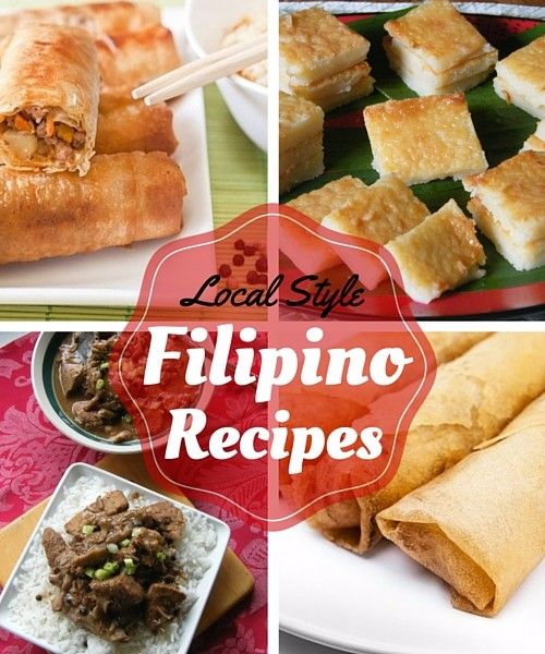 Filipino local style food from Hawaii. More local style recipes here. Enjoy!