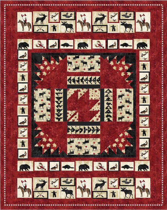 23 best Canada quilts images on Pinterest | Quilt blocks, Flag ... : canada quilt - Adamdwight.com