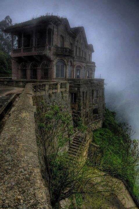The Hotel Del Salto, Tequendama Falls Bogota Columbia