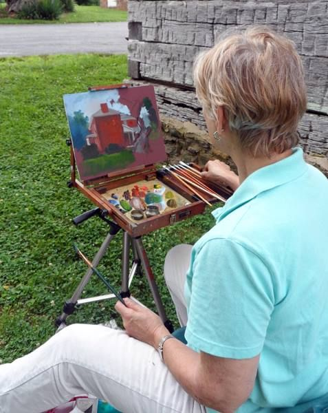 TOPS Plein Air Painting Event