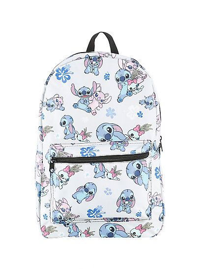 Disney Lilo & Stitch Stitch Scrump & Angel BackpackDisney Lilo & Stitch Stitch Scrump & Angel Backpack,