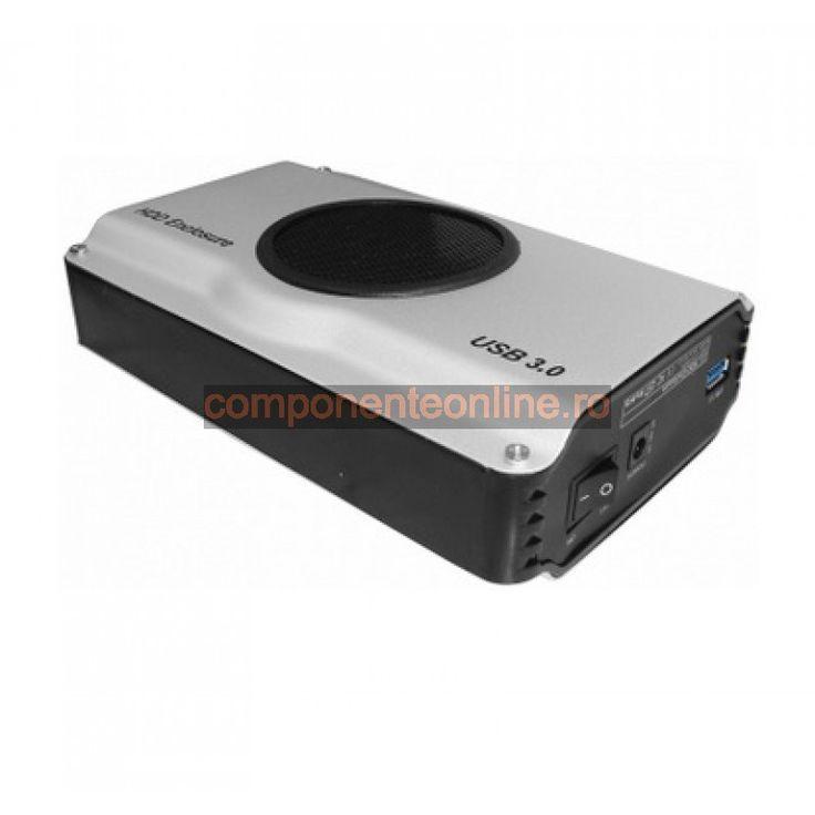 "Rack extern 3,5"" SATA, cu ventilator, USB 3.0 - 102518"