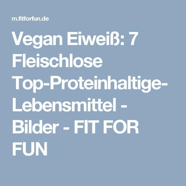 Vegan Eiweiß: 7 Fleischlose Top-Proteinhaltige-Lebensmittel - Bilder - FIT FOR FUN