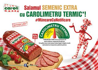 APROAPE DE PRIETENI: Descoperă și tu corolimetrul termic!La Caroli Food...