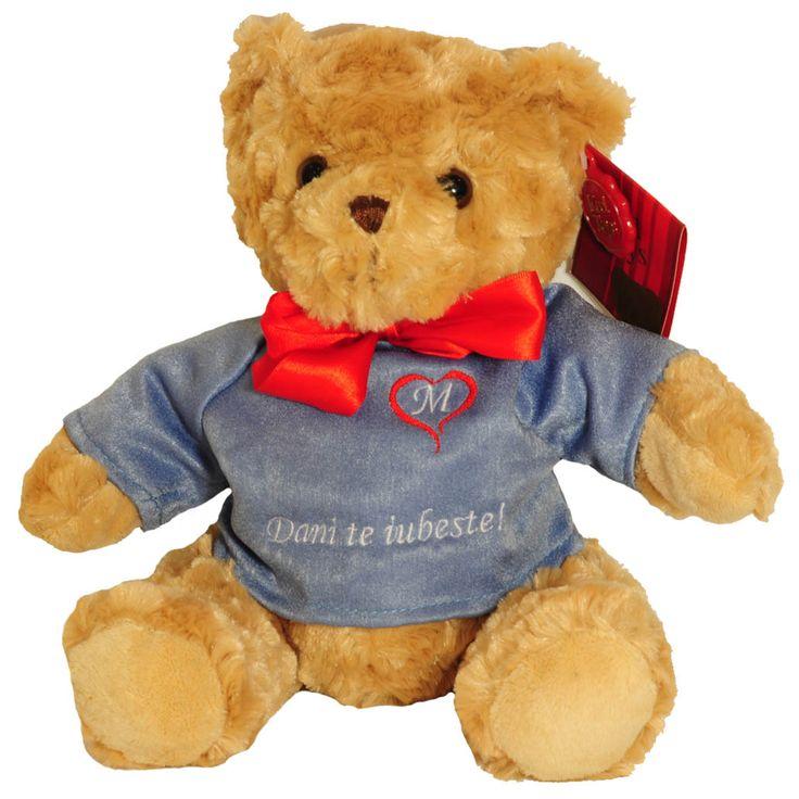#Ursulet personalizat http://www.cadouripersonale.ro/Ursulet-de-plus-personalizat-25cm-p-17036-c-383-p.html