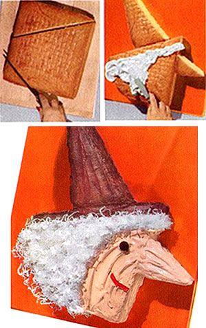 Recipe(tried): Hallo Witch Cake (Baker's Coconut Cut-Up Cake, 1950's) - Recipelink.com