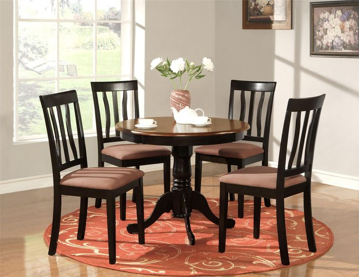 Round Kitchen Table Sets Kitchen Small Round Table Sets Chrome – Round Kitchen Table with 4 Chairs