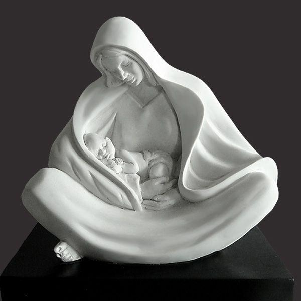 Statua di madre Maria – ALPHA & OMEGA - Timothy P. Schmalz
