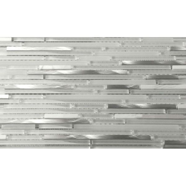 Martini Mosaic Riga Marble Ice 12 x 12-inch (Set of 8 Sheets) - Overstock Shopping - Big Discounts on Martini Mosaic Backsplash Tiles