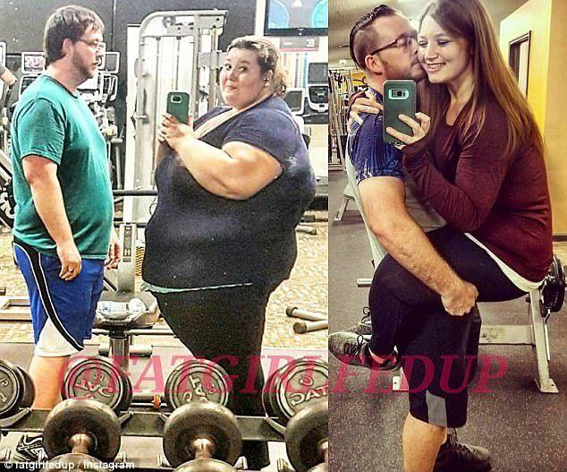 Ζευγάρι έχασε μαζί 181 κιλά βοηθώντας ο ένας τον άλλον και μεταμορφώθηκαν  #Αληθινέςιστορίες