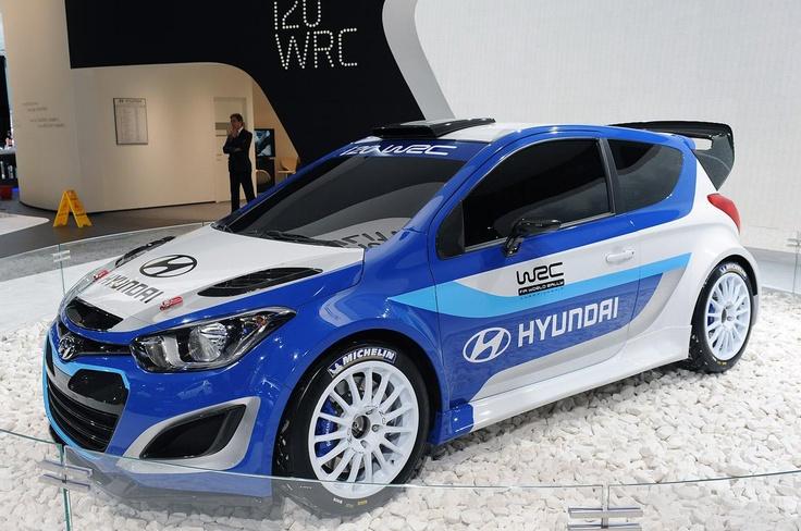 Раллийный Hyundai i20 WRC