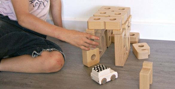 Sumblox are number blocks for toddlers. Use them in STEM activities or in pretend play.
